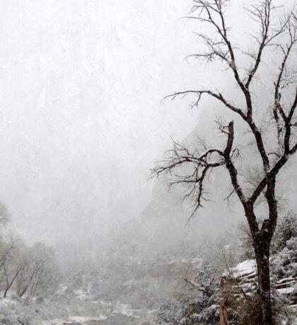 Zion Snowstorm Sticker