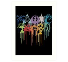 Graphic Guilds Art Print