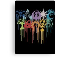 Magic the Gathering: Graphic Guilds Canvas Print