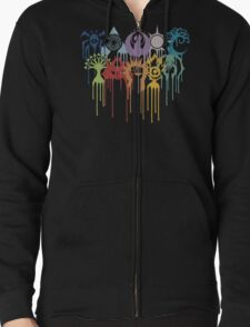 Magic the Gathering: Graphic Guilds Zipped Hoodie