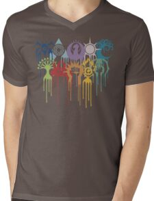 Graphic Guilds Mens V-Neck T-Shirt