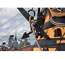 HMS Diamond And HMS Victory Photographic Print