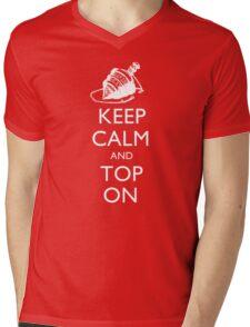Magic the Gatherin: Keep Calm & Top On Mens V-Neck T-Shirt