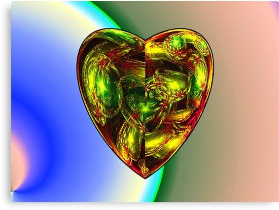 Spherical Gems Heart (UF0421) by barrowda