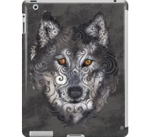 Swirly Wolf iPad Case/Skin