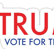 Trump - Vote for the Hair Sticker