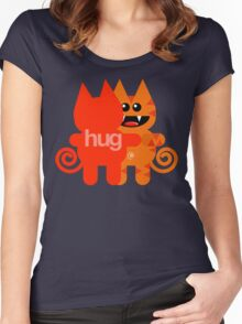 KATHUG (kids) Women's Fitted Scoop T-Shirt