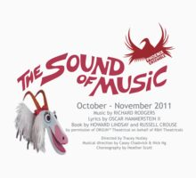 The Sound of Music cast and crew tshirt by Heather Scott