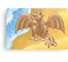 """""""Dumb Dragon""""?! Canvas Print"""