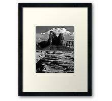 Hard Country Framed Print