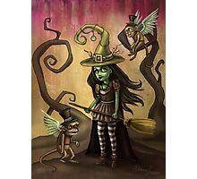 Wicked Witch of OZ Photographic Print