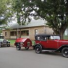 Historic Cars at Fernleigh by Wendy Dyer