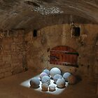 Cannonballs in the light. by Quixotegraphics