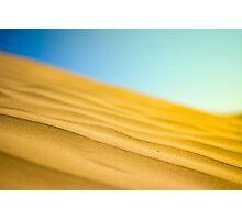 Dune Waves Photographic Print