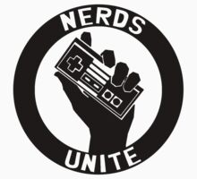 NES NERDS UNITE! Kids Clothes
