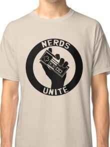 NES NERDS UNITE! Classic T-Shirt