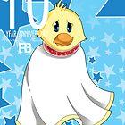 Shy Shy Ducky by royalrex