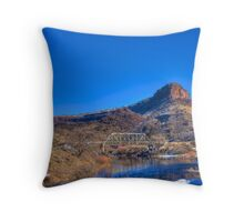 Rio Grande - Winter Scene Throw Pillow