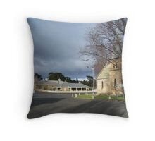 Four Corners of Ross Throw Pillow