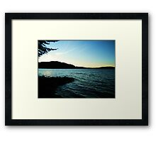 Lac La Blanche, Quebec Framed Print