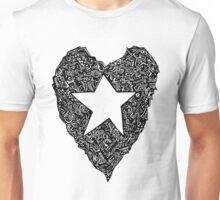d2d - StarHeart Unisex T-Shirt