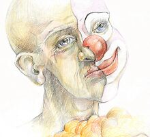 The clown or an invisible reality by mayartistka