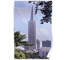 Transamerica Pyramid - San Francisco, CA Poster