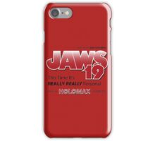 Jaws 19 - Back to the Future iPhone Case/Skin