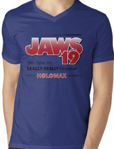 Jaws 19 - Back to the Future Mens V-Neck T-Shirt