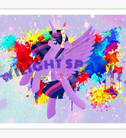 Twilight Sparkle ; My Little Pony Sticker