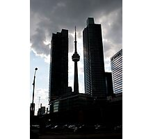 CN Tower from Bay and Harbour Photographic Print