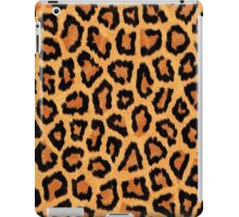 Orange Leopard Print iPad Case/Skin