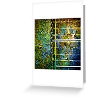 Below the Water Line (grunge) Greeting Card