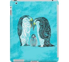 Swirly Penguin Family iPad Case/Skin