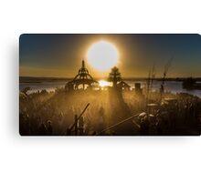 Tipper Sunrise Canvas Print