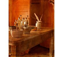 Apothecary Bottles HMS Victory Photographic Print