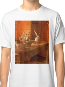 Apothecary Bottles HMS Victory Classic T-Shirt