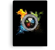 Magic the Gathering: Elemental  Battle Canvas Print