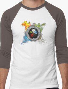 Magic the Gathering: Elemental  Battle Men's Baseball ¾ T-Shirt
