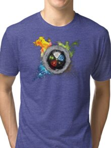 Magic the Gathering: Elemental  Battle Tri-blend T-Shirt