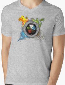 Magic the Gathering: Elemental  Battle Mens V-Neck T-Shirt