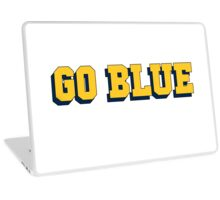 Go Blue University of Michigan Laptop Skin