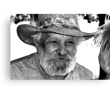Uncle Ray Canvas Print