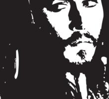 Captain Jack Sparrow T-shirt/sticker Sticker