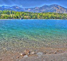 HDR - Lake Walchensee - Germany by Daidalos