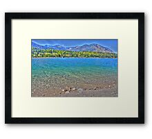 HDR - Lake Walchensee - Germany Framed Print