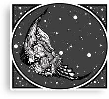 Carrion - Russian Fairytale. Finist the Falcon Canvas Print