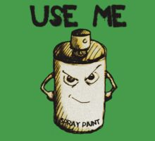 Spray Can - Use Me by Nik Usher