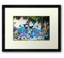 Monkey and others Framed Print