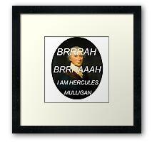 Hercules Mulligan Hamilton Musical Framed Print